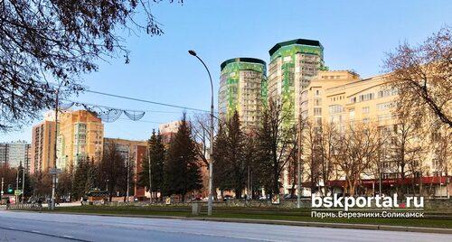 Теплый ноябрьский день в Перми